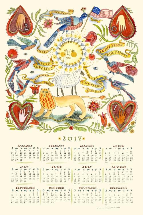 Paschkis 2017-calendar