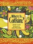 """Catkin is on the prowl, ever alert to the sounds and movements that intrigue cats so much. Young children will delight in finding the critters hidden in the folk-style artwork before the calico does, and they will enjoy imitating the sounds each animal makes...There are so many ways to engage with this book that multiple readings are in order."" School Library Journal"
