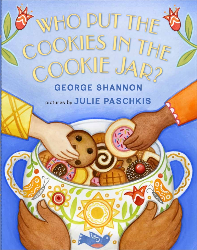 """All of us depend on countless people we'll never know to provide us with our daily needs. """"Hands that help the hands that help are what the world's about.""""  This book celebrates community and cookies."""