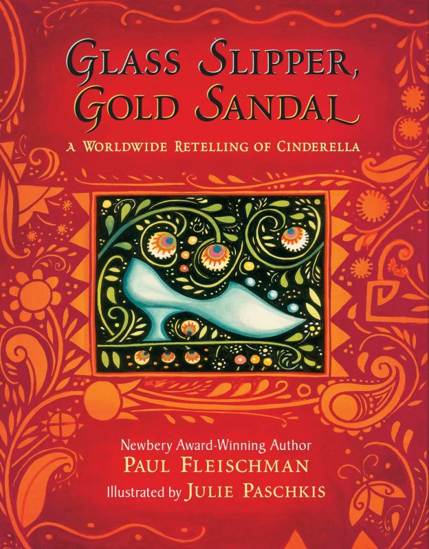 """This book weaves together the story of Cinderella as told in 18 different countries. The similarities between cultures resonate, and the differences enrich the classic tale. """"Glass Slipper, Gold Sandal carries us back in time to see where the Cinderella story has been, presenting a richly layered feast for the eyes and mind."""" The New York Times. Winner - a NYT Notable Book,  A Kirkus Best Book, A Booksense Pick"""