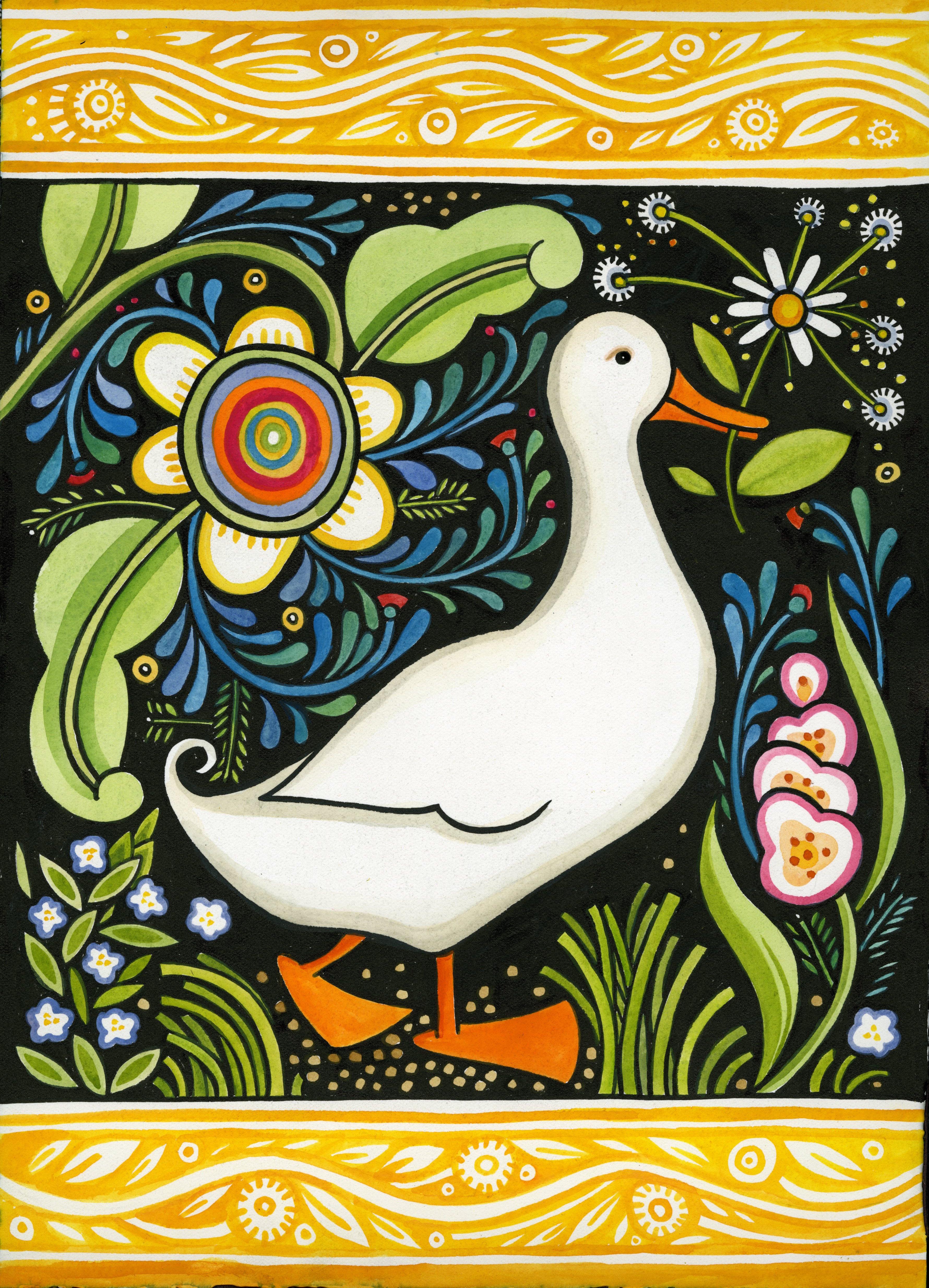Cards julie paschkis ducky m4hsunfo