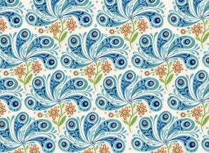 Azuli feathers