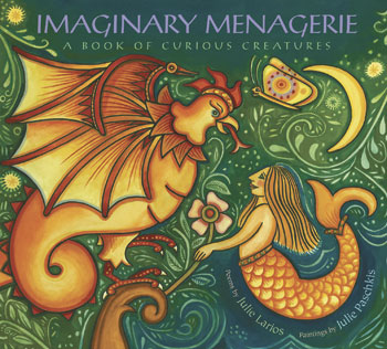 """Using poems and pictures this modern bestiary proves a fascinating introduction to mythical creatures from different cultures...(a) little masterpiece."" *Kirkus, starred review"