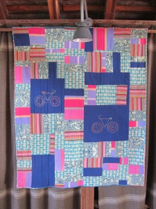 Paschkis Bicycle Quilt
