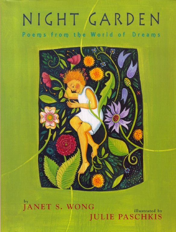 """""""In this absorbing volume Wong and Paschkis examine the familiar yet surprising qualities of dreams. Paschkis's swirling imagery and Wong's quiet yet haunting words skillfully simulate the reveries they recount."""" Publisher's Weekly Winner: A New York Times Best Illustrated Book An NCTE Notable Children's Book"""