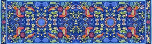 Paschkis summerbird scarf
