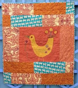 yellow bird quilt
