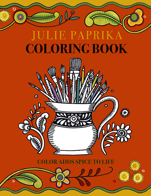 paprika coloring book cover web